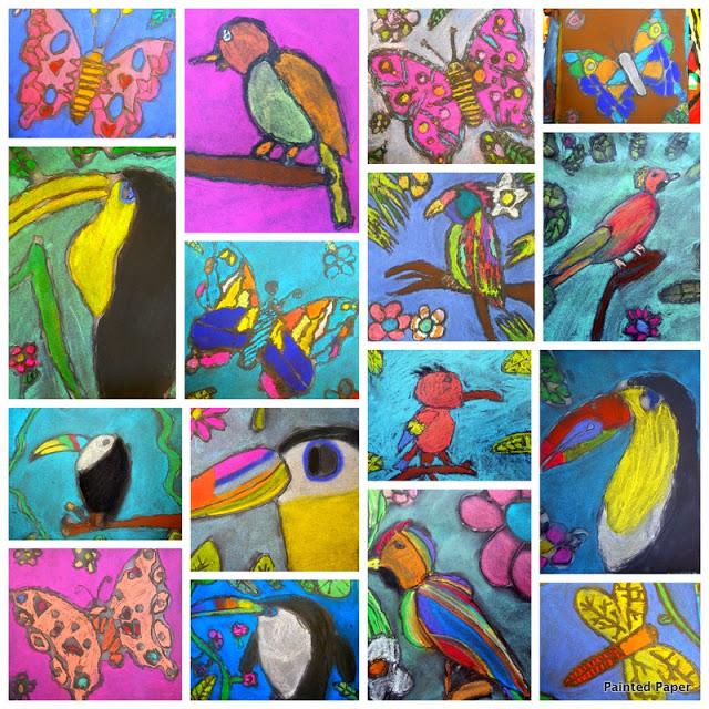 Chalk Birds1