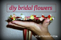 DIY Bridal Flowers