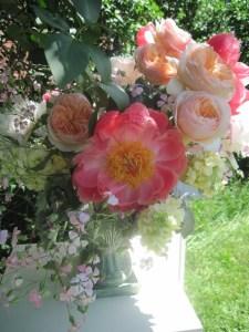 Vermont wedding flowers