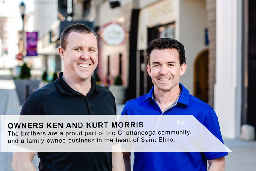 OWNERS KEN AND KURT MORRIS