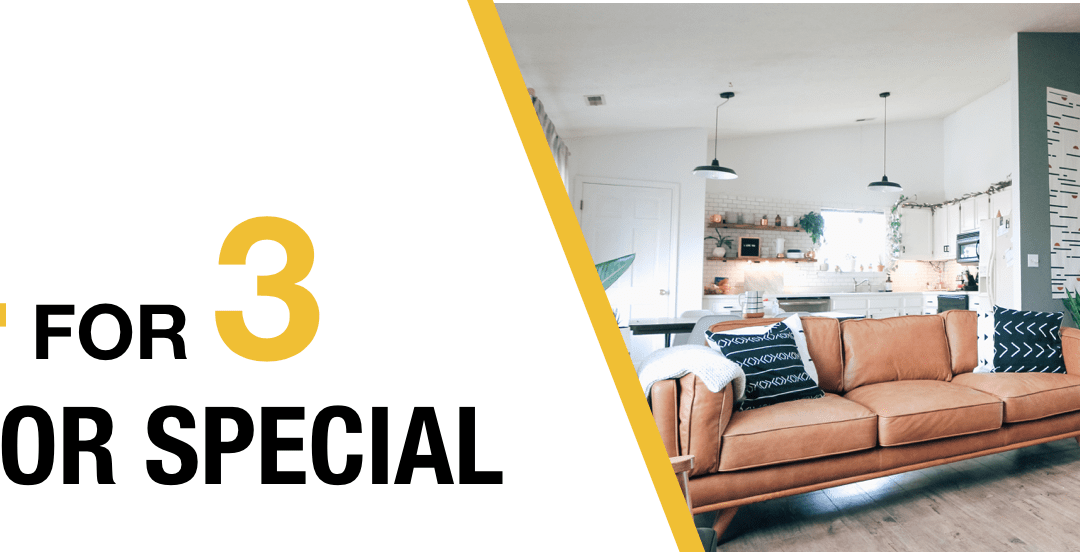 Annual Interior 4-for-3 Painting Special