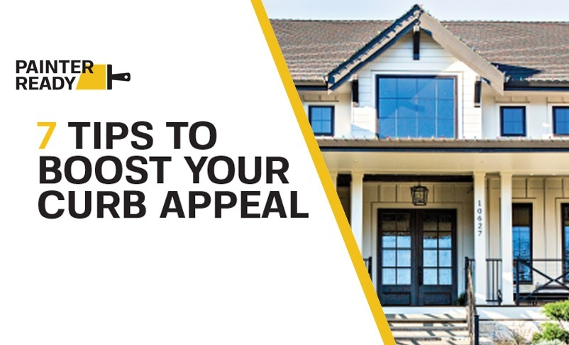 SEVEN TIPS TO BOOST YOUR CURB APPEAL