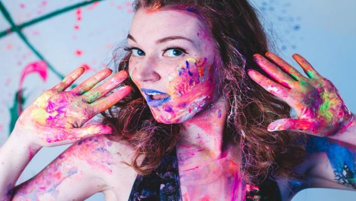 How to Get Spray Paint off Skin