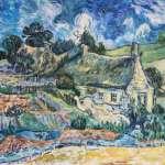 Вольная-копия-картины-Ван-Гога-Хижины Кордевиля 30х40-Vinsenta, С.Сычева