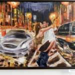 Любовь в городе, холст, масло, 60х80,Косариков Д.