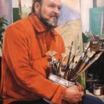 Портрет одесского художника 2012 год 80х60 холст масло, Андрей Халтурин