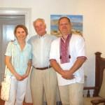 Выставка Портала в Греции-г.Афины-Украинские художники-участники нашей выставки, проживающие в Греции. Оксана Чаус и Зенон Франко