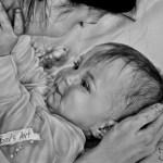 Mommy's lil happiness, А4, графика, 2014 - Негода Евгения