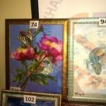 Картина О.Караваева готовится к аукциону.