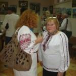 С известной украинской поэтессой_ Єлізаветою Киселюк-Андрійків