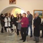 Выступает Валерий Твердохлеб-художник-реставратор-заведующий отделом реставр.музея