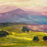 Горы,Картина,живопись-Dreaming. 50x40 o.c. 2016, _Елена Жигилевич