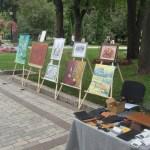 Выставка картин художников Портала в парке им. Т.Г.Шевченко