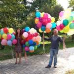 Екатерина Пилкина и воздушные шарики исполнения желаний для детишек