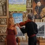 Выставка в Ивано-Франковске,музыкальное сопровождение