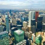 Фото-Торонто.Канада.Свысоты 370 м..