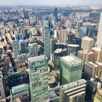 Фото-Торонто.Канада.Свысоты 370 м.