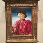 Картина-Кастаньо Андреа дель, Мужской портрет,доска,темпера,1450 г.