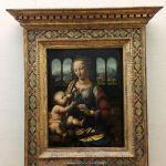 Леонардо да Винчи-Мадонна с гвоздикой.-фото А.Прохоровой-фото, картина