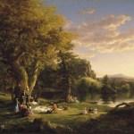 Коул Томас-Cole_-_The_Pic-Nic_(1846)-фото, картина, заказать картину