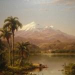 Картина-Чёрч Фредерик-Tamaca_Palms_by_Frederic_Edwin_Church,_1854