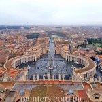 Фото-Ватикан, заказать картину маслом, Рим