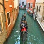 Фото-Венеция,каналы,картина по фотографии