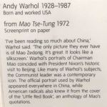 Уорхол,Мао (описание)
