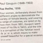 Заказать картину-Поль Гоген...-описание