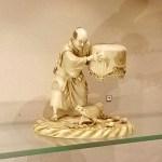 Изделия из слоновой кости.Нэцкэ-мини-скульптуры.