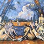 Картина Поля Сезанна «Купальщицы»