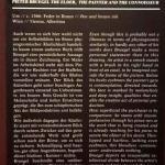 Описание.Выставка Питера Брейгеля Старшего.Вена