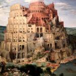 Вавилонская башня-Заказать картину, картины на заказ,копии известных картин