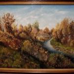 Золота осінь, олія, картон, 30х40, 2017- Iрина Стасюк