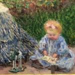 Клод Моне- картины художника, живопись, Фрагмент