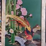 Фазаны возле речки,45 цветов, нитки DMC, 42 х 60_Черненко Екатерина