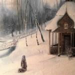 Покаяння,полотно,олія,85×60,2015р.-Горпинюк Микола