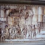 Архитектура Барселоны, барельефы,колонны,арки2