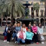 Королевская площадь Барселоны.Команда Портала