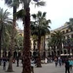 Королевская площадь Барселоны1