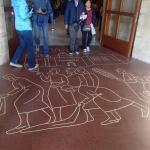 Саграда-напольные рисунки