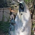 Скульптуры и барельефы монастыря 12
