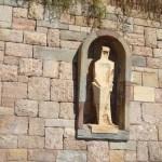 Скульптуры и барельефы монастыря4