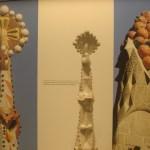 Музей Антонио Гауди, экспонаты Саграда Фамилия-Макеты, чертежи...