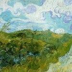 Vincent Van Gogh Green Wheat Fields- Collection of Mr. & Mrs. Paul Mellon, Upperville VA