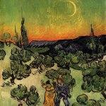 Vincent Van Gogh- La Promenade de Soir (Oct. 1889-May 1890)- Museu de Arte, São Paulo