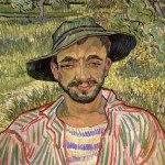 Vincent van Gogh-Portrait of a Young Peasant (1889) Solomon R. Guggenheim Foundation, Venice