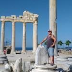 Храм Аполлона-его мы и будем писать-рисовать на пленре