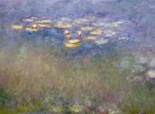 Water Lilies (Agapanthus) by Claude Monet