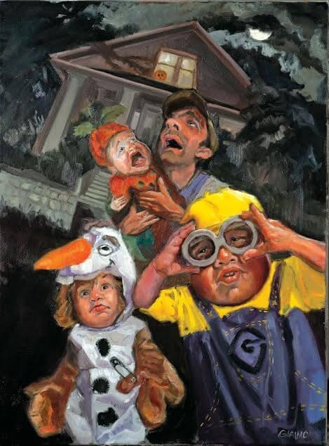 Halloween Illustration by Mark Giaimo
